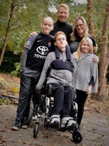 James O'Loughlin and family