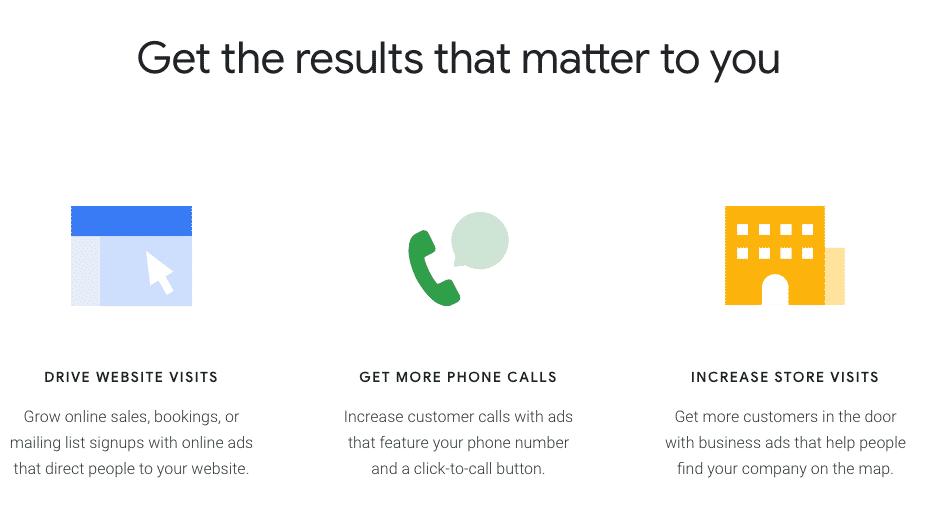 Google ads benefits