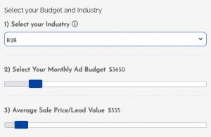 Facebook ad calculator