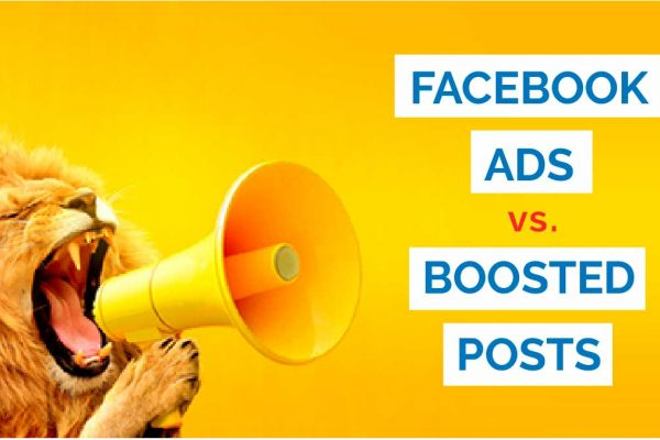 Lion asking Facebook ads vs Boosted Posts